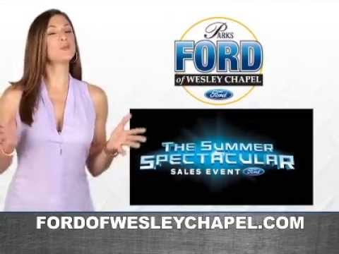 Wesley Chapel Ford >> Parks Ford Summer Spectacular Event Youtube
