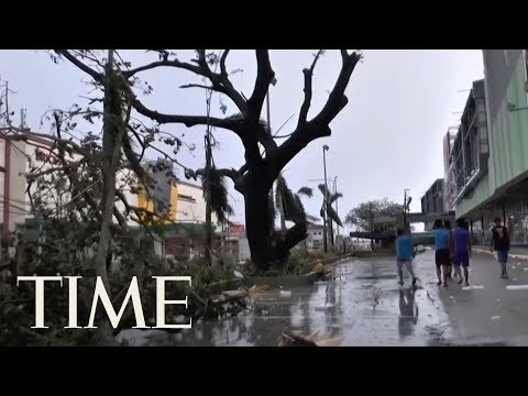 Typhoon Mangkhut's Death Toll Is At Least 66 As It Barrels I