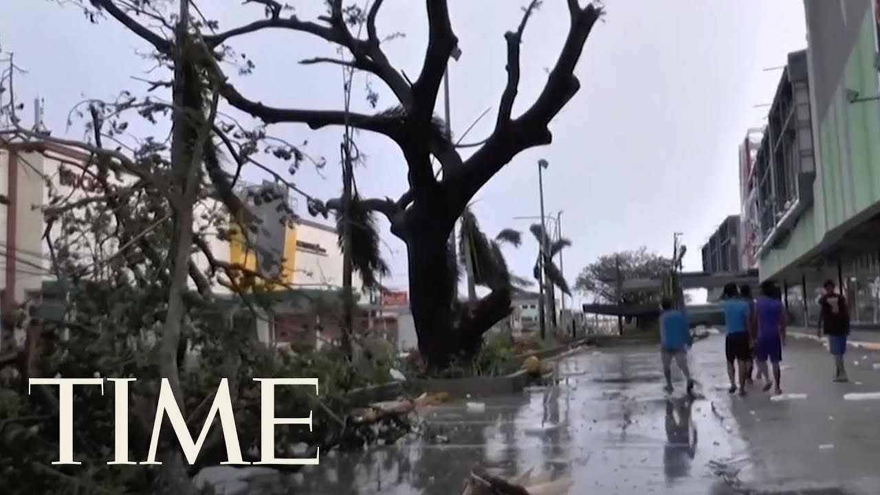 Typhoon Mangkhut's Death Toll Is At Least 66 As It Barrels Into China | TIME