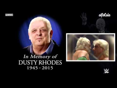 "WWE: Dusty Rhodes - ""Raging Fire"" - Official Tribute Theme Song"