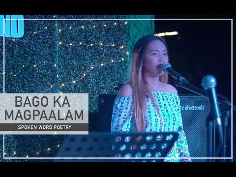 BAGO KA MAGPAALAM - Spoken Word Poetry | By Beverly Cumla