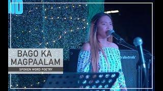 BAGO KA MAGPAALAM - Spoken Word Poetry | By Beverly Cumla