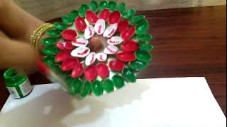 Flowers With Pista Shells