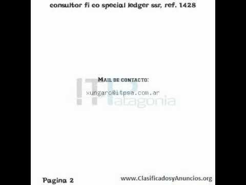 Download consultor fi co special ledger ssr, ref. 1428 Fecha: 12 de agosto de 2011