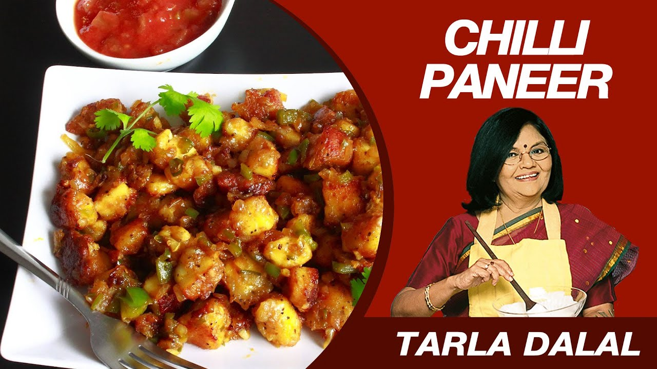 Chilli paneer dry starter recipe by masterchef tarla dalal youtube chilli paneer dry starter recipe by masterchef tarla dalal forumfinder Choice Image