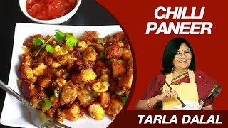 Chilli Paneer Dry Starter Recipe By MasterChef Tarla Dalal