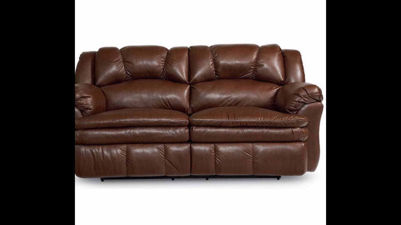 apartment size sectional sofa with recliner - YouTube
