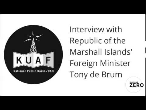 KUAF Interview with Tony de Brum