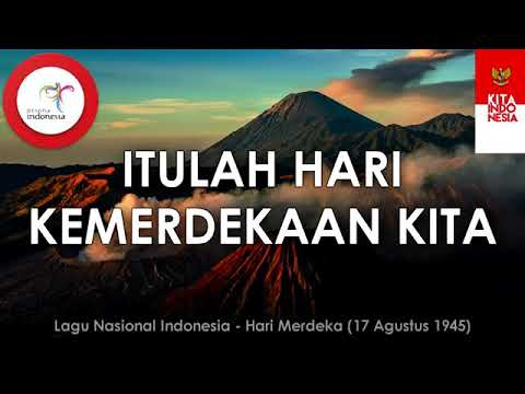Lagu nasional indonesia. Pahami lirik lagunya dan dalami maknanya.