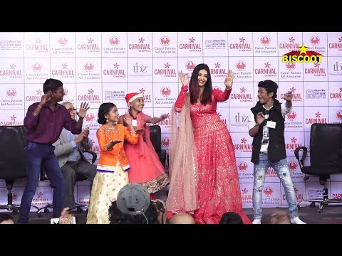Aishwarya Rai Bachchan DANCES With Cancer Kids While Celebrating CHRISTMAS