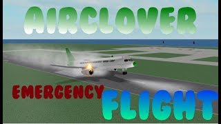 airClover A220 Flight! | EMERGENCY LANDING (Roblox)