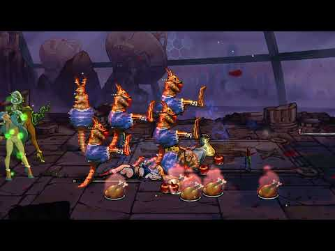 Streets of Rage 4 Nintendo Switch Boss Rush Mode and cheats |