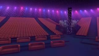 VIP-зал новогоднего сказочного шоу