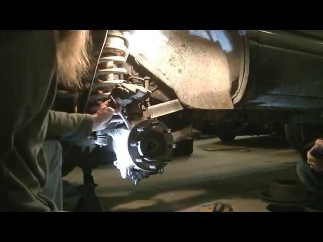 How To Change Dodge 3500 Wheel Bearing