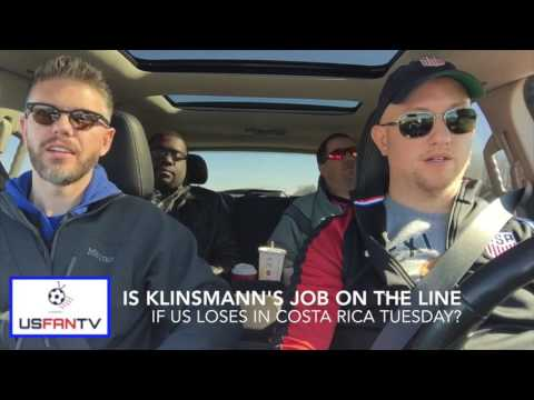 USfanTV: Should US fire Klinsmann with a loss to Costa Rica?