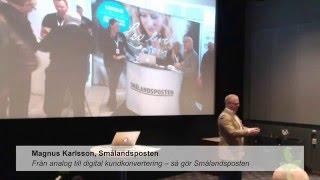IEC Digitala veckan 27 april – Magnus Karlsson, Smålandsposten