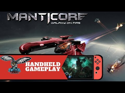 Manticore Galaxy on Fire Switch Gameplay (Handheld only!)