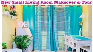 Small Living Room Decorating Ideas | Small Indian Living Room Tour | DIY