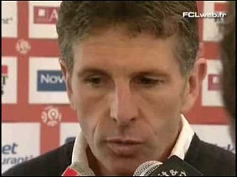 Interview Claude Puel avant Lorient-Lyon