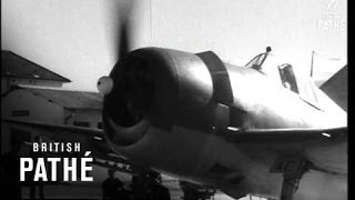 Fleet Air Arm Exercises In South Africa (1945)
