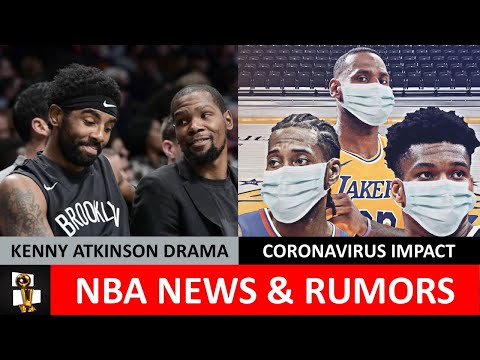 nba-rumors-on-lebron's-mvp-charge,-coronavirus-precautions-&-kevin-durant-pushed-kenny-atkinson-out?