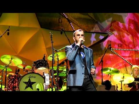 Photograph - Ringo Starr Live at the Empire Theatre Liverpool 18/6/2011 (Front Row)