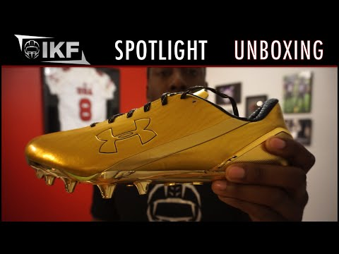 Under Armour Spotlight Football Cleat Unboxing - Ep. 289