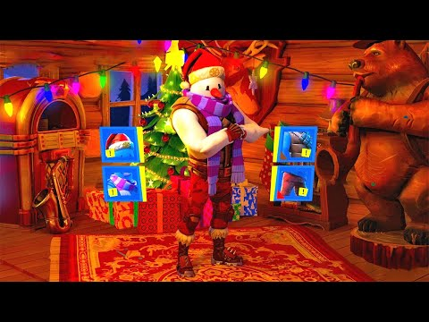 Fortnite 14 Tage Winterfest Event (Gratis Skin Weihnachts Update Deutsch)