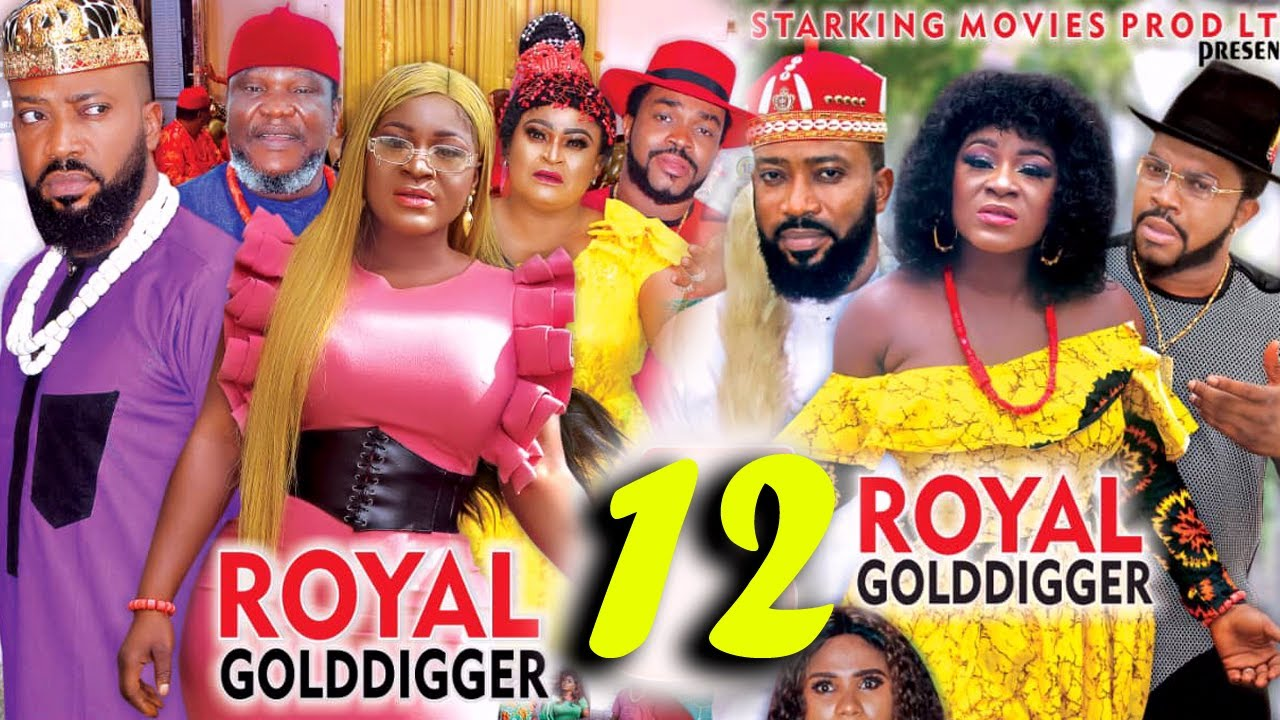 ROYAL GOLD DIGGER SEASON 12 - (New Movie)Fredrick Leonard 2021 Latest Nigerian Nollywood Movie 4K HD