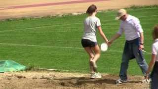 Gare scolastiche atletica - Fabriano 20 aprile 2013 - Salto in lungo femminile
