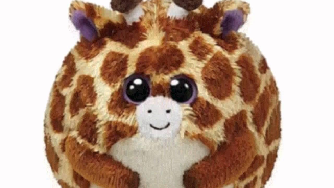 Ty Beanie Ballz Tippy Plush - Giraffe af7fd00402c4