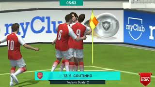 PES 2018 pro evolution soccer android gameplay