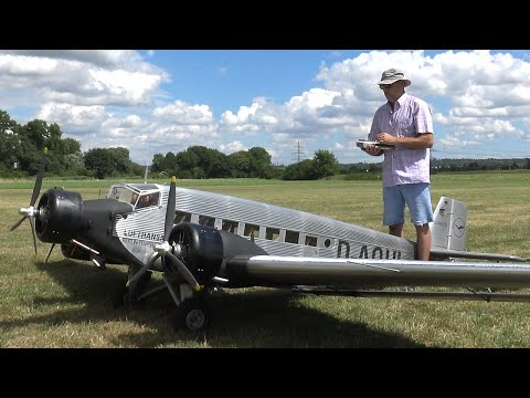 Giant 20ft. Rc Junkers Ju-52