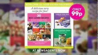 Best Loved Recipes - website by Design for Digital