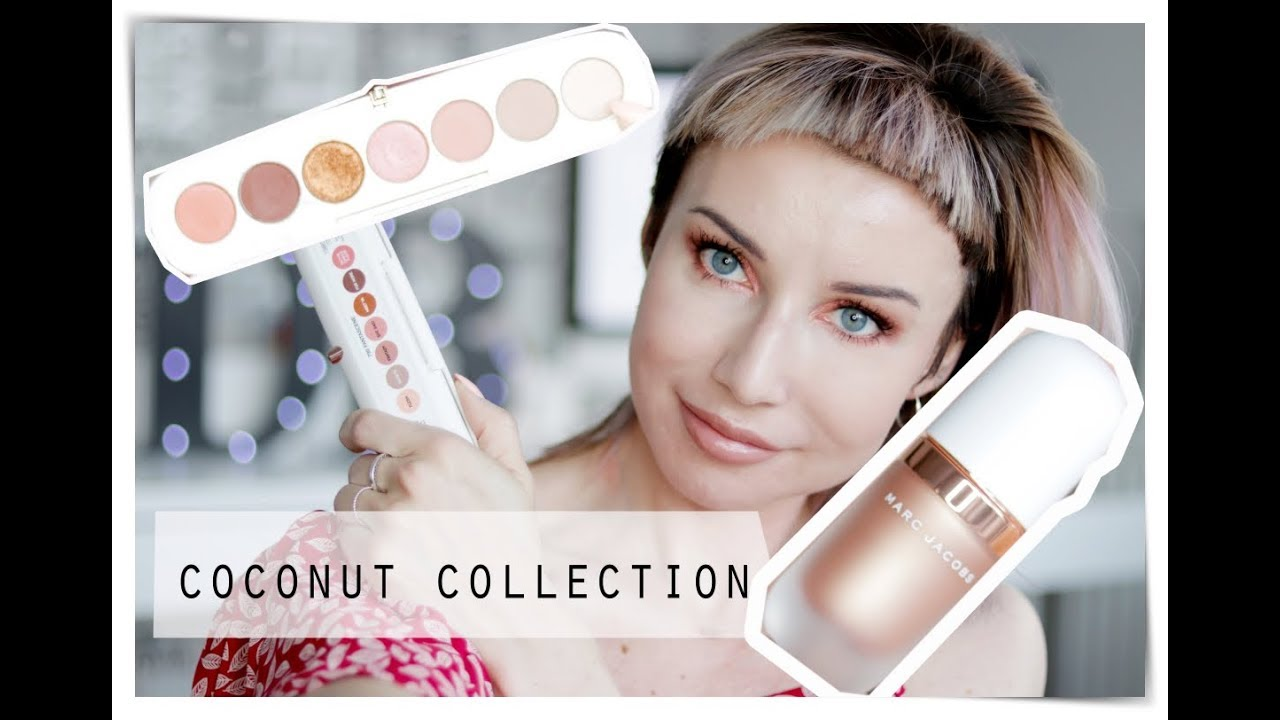 Marc Jacobs COCONUT COLLECTION TEST Eye Conic i Dew Drops Fantasy | DELICIOUS BEAUTY