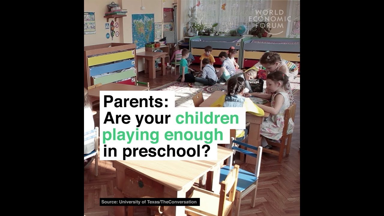 Parents  Are your children playing enough in preschool