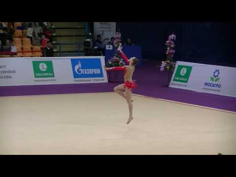 Denisa Mailat (ROM)  hoop  Grand Prix Moscow 2017