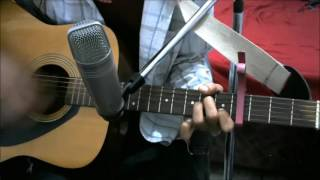 Saajna - Falak Shabir - SIMPLE COMPLETE GUITAR COVER LESSON CHORDS EASY VERSION