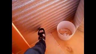 Утепление балкона своими руками часть 2.(, 2016-05-12T14:25:28.000Z)
