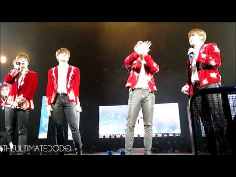 [FANCAM] 170324 BTS telling pit to move back @ The Wings Tour in Newark Day 2
