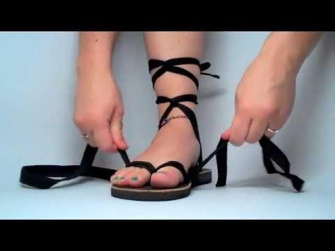 Sseko Flo's 2 Strap Tall Gladiator Tie