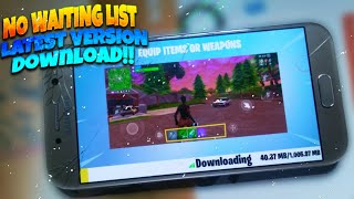 How to download FORTNITE on Android Phones | With Proof | Any Devices!!