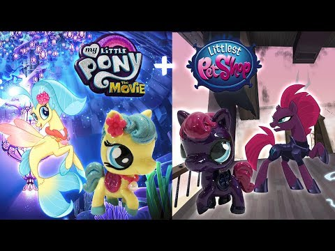 Custom LPS Princess Skystar & Tempest Shadow || My Little Pony + Littlest Pet Shop Mashup