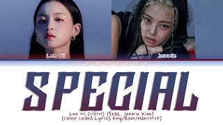 Lee Hi (이하이) – Special (feat. Jennie Kim) (Color Coded Lyrics Eng/Rom/Han/가사)
