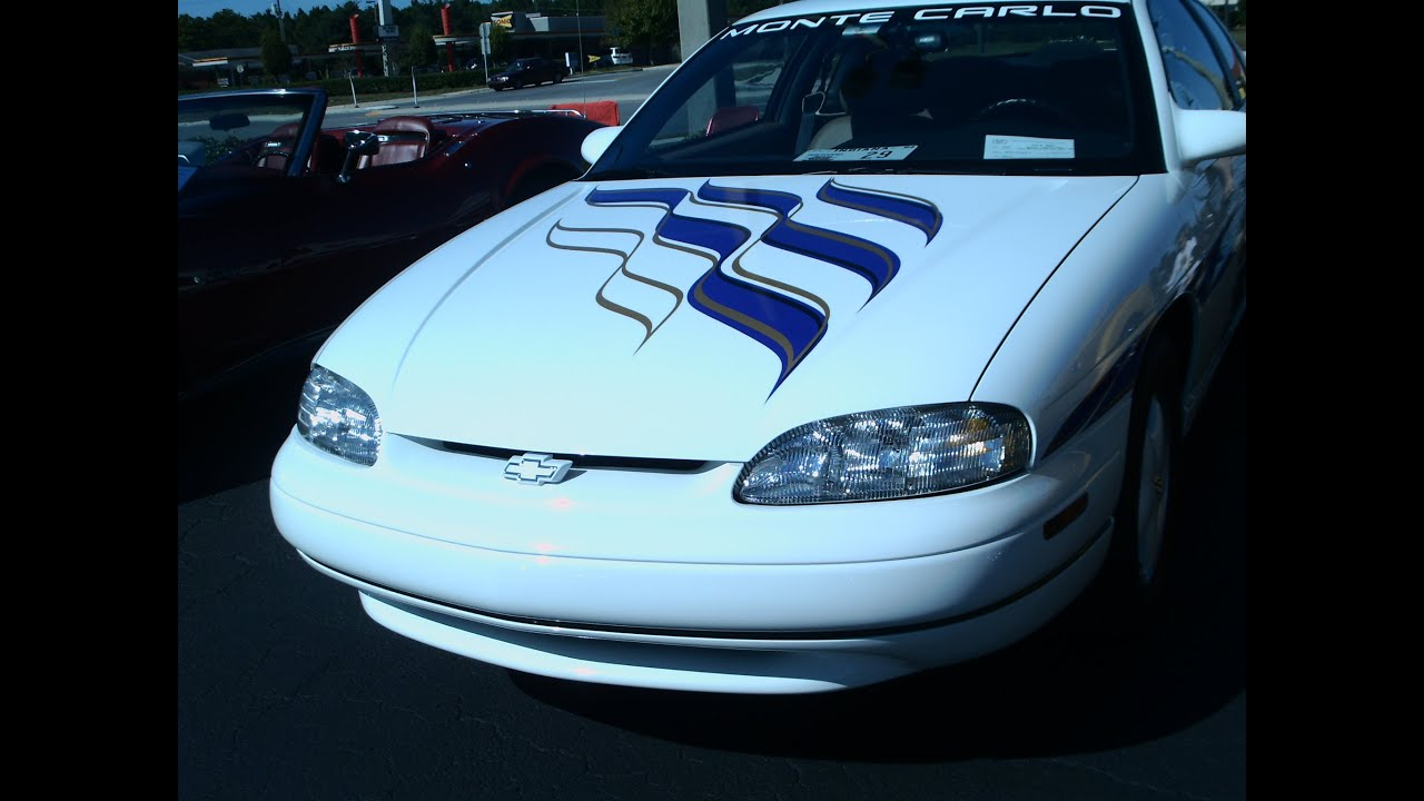 hight resolution of 1995 monte carlo z34 pace car brickyard 400 wht