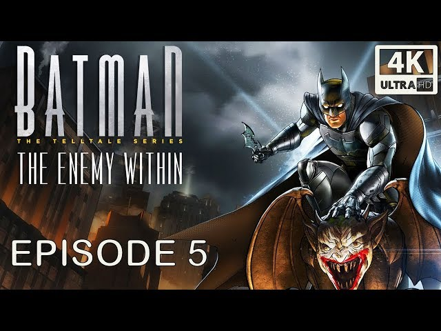 Batman: The Enemy Within Shadows Edition Episode 5 'Same Stitch' (All Cutscnes) 4k 60FPS
