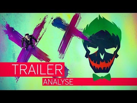 SUICIDE SQUAD | Joker ist NICHT der Böse | Trailer Analyse | Vorschau