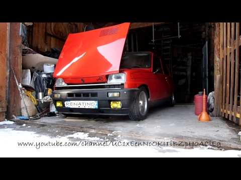 RENAULT 5 GT TURBO 1980 FIRST SERIES SOUND