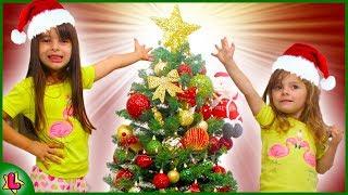 Christmas Tree Decorating! MONTAMOS NOSSA ARVORE DE NATAL LAURINHA E HELENA