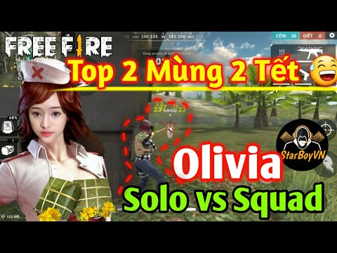 [Garena Free Fire] Highlight Olivia Mùng 2 Top 2 =)) | StarBoyVN